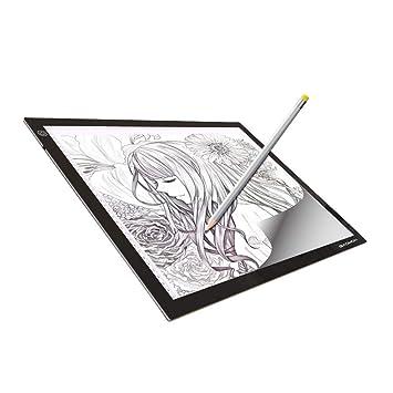 A4 LED Art Craft Copy Drawing Tracing Tattoo Anime Sketching Light Box Pad Board