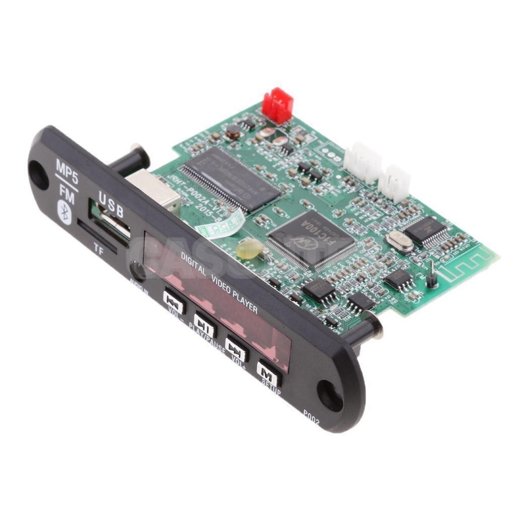 Tradico Handsfree Bluetooth Mp5 Player Decode Electronics Vtf108 Circuit Usb Sound Voice Recording Module