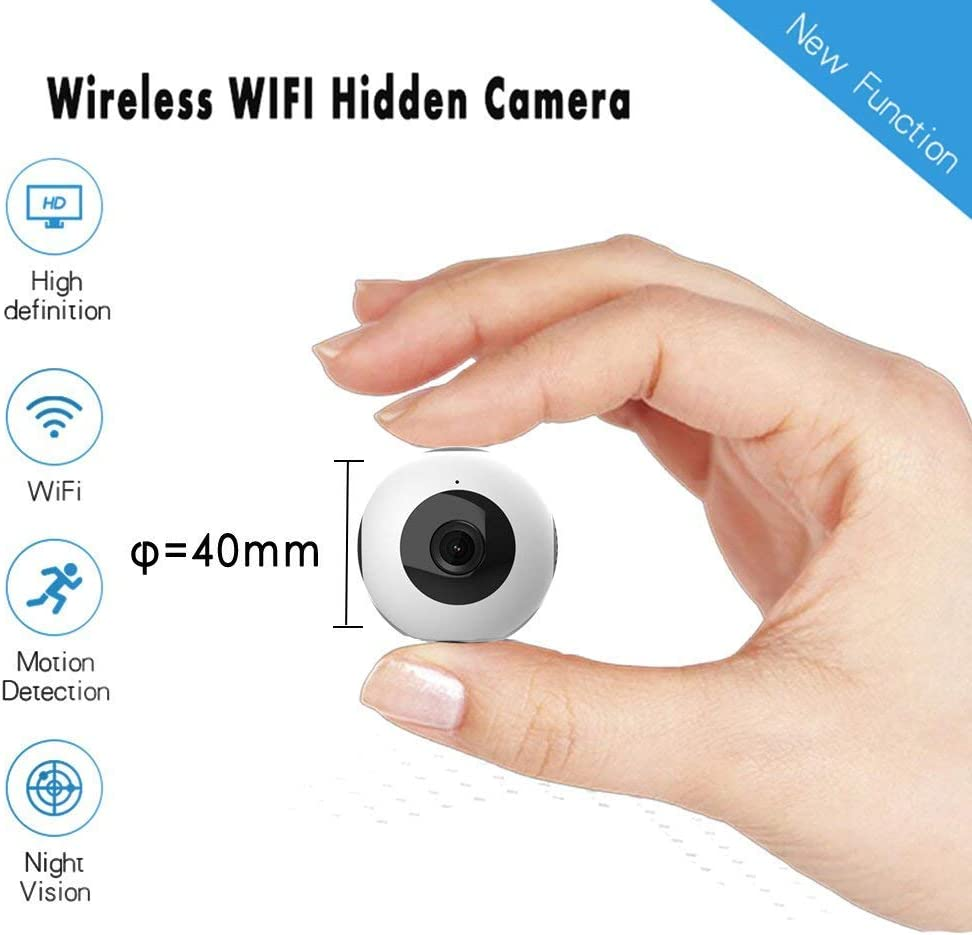 TIAO Mini cámara C8 WiFi Ap P2P conectar con teléfono móvil HD ...