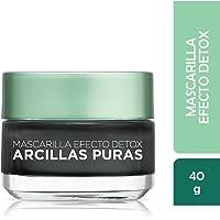 Mascarilla negra, Arcillas Puras, L'Oréal Paris, 40 ml