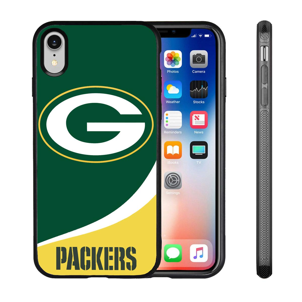 iPhone XR Case Slim Fit Protective Back Cover Anti-Skid Hybrid Soft Grip Premium TPU Rubber Shockproof Anti-Scratch Textured Panel Shell for iPhone XR 6.1-inch