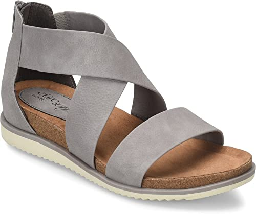 0185133dd Eurosoft by Sofft Women's, Landry II Casual Sandals Gray 9.5 M ...