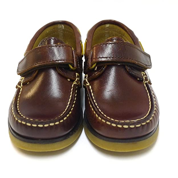Zapatos Niño Mocasines Naúticos privata 102 Marron: Amazon.es: Zapatos y complementos