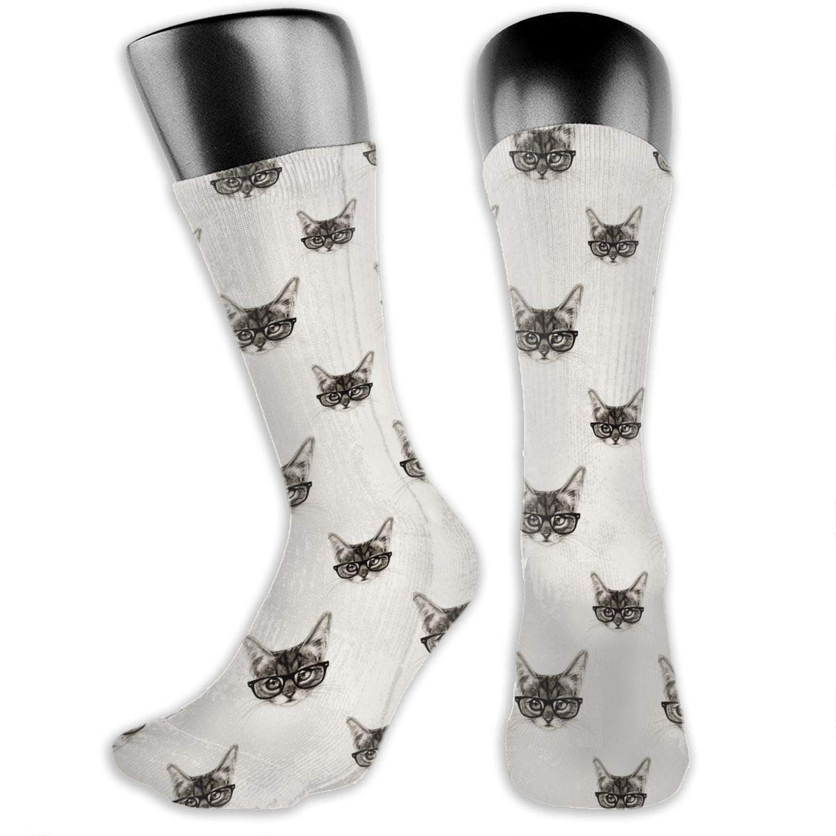 Pattern Cotton Casual Colorful Fun Below Knee High Athletic Socks