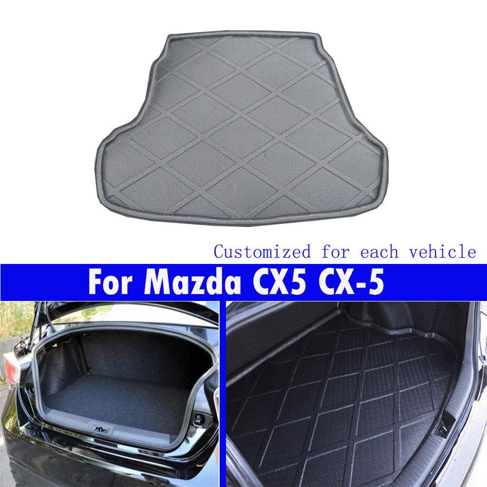 Coches nuevos 1PCS cola almohadillas almohadillas de maletero de coche Alfombrillas delanteras para CX5 CX-5 2013 2014 2015 2016 2017 2018 2019