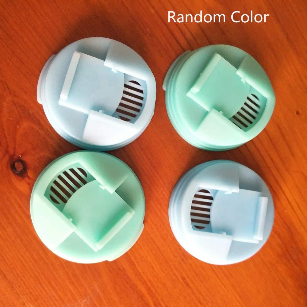 isolati Sweet48 Set di 4 Tappi per lattine riutilizzabili a Prova di perdite Colore Casuale per la casa