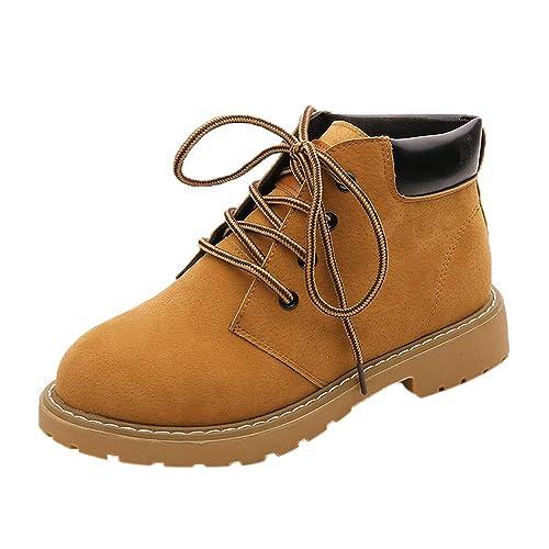Botas Mujer Invierno,BBestseller Botines Sport Botas de Oto?o e Invierno Zapatos Planos Zapatos Casuales: Amazon.es: Zapatos y complementos