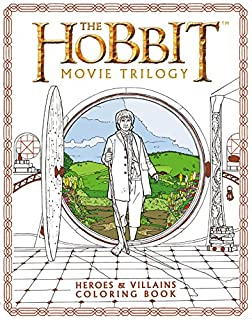 the hobbit movie trilogy heroes and villains coloring book - Lord Of The Rings Coloring Book