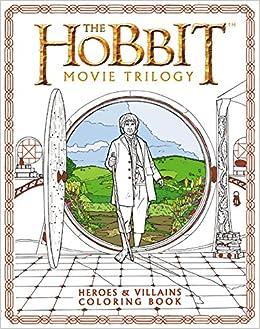 amazon.com: the hobbit movie trilogy: heroes and villains coloring ... - Hobbit Dwarves Coloring Pages