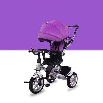 HUALQ Bicicleta D6689 Triciclo para Niños Bicicletas para ...