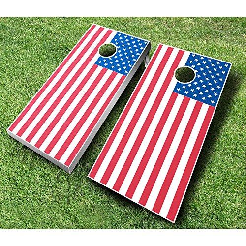 American Flag Tournament Cornhole Set from AJJ Cornhole