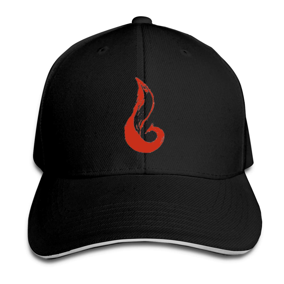Fox Classic Adjustable Cotton Baseball Caps Trucker Driver Hat Outdoor Cap Black