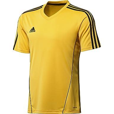 adidas Estro 12, Camiseta, Amarilla Negra, Talla 120 XXXS