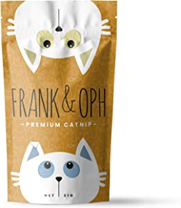 Frank & Oph Luxury Catnip Organic Premium High Potency Cat Treat