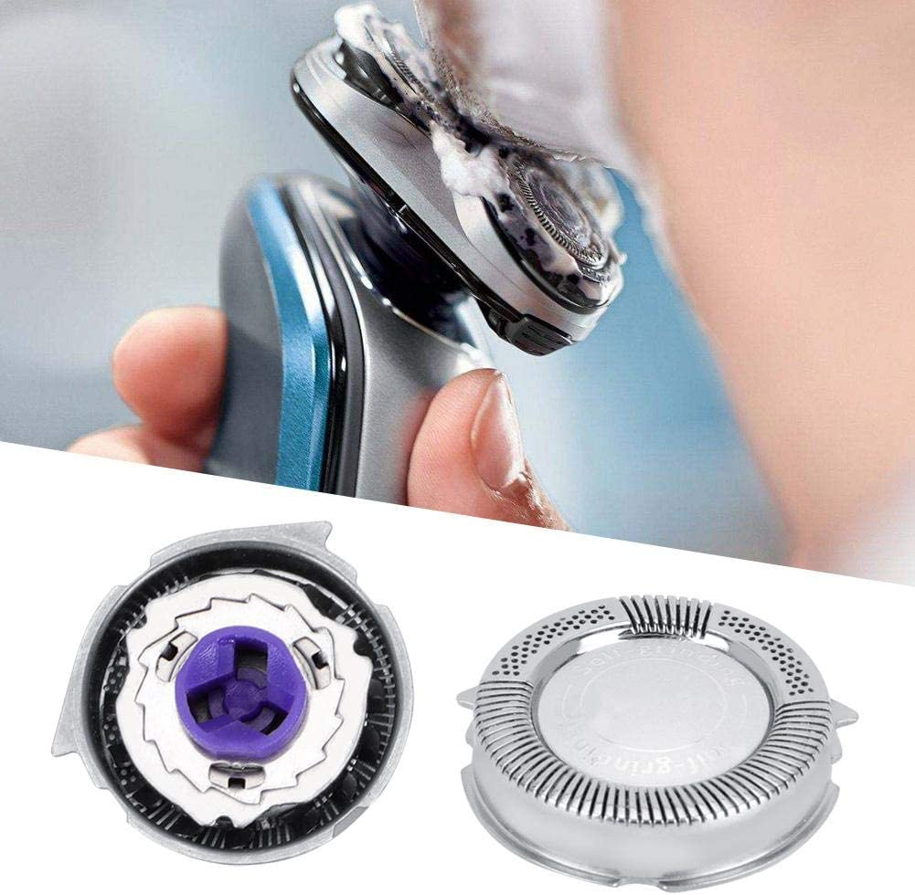 Woyisisi Accesorio de reemplazo de Cabeza de afeitadora de Acero 3 ...