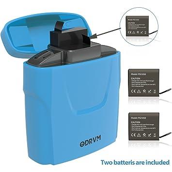 Amazon.com: 5200 mAh cámara de acción cámaras de batería ...
