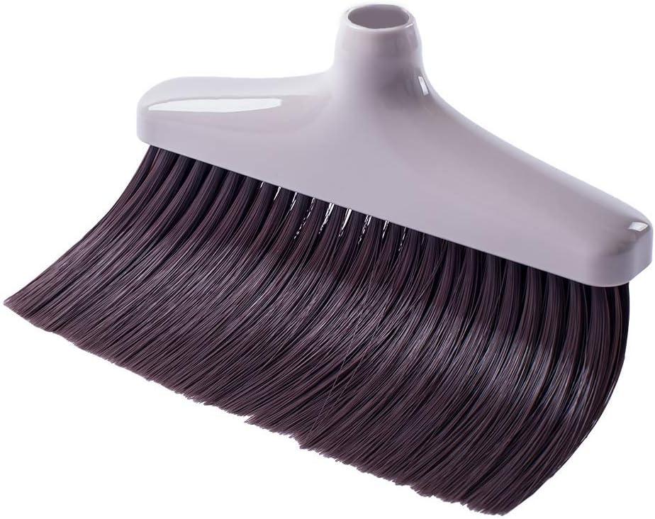 CQT Broom Head Commercial Wet /& Dry Floor Sweeper for Sweeping Dust /& Cleaning Carpet Wood Laminate Vinyl /& Hardwood Floors
