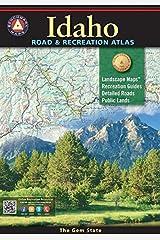 Idaho Benchmark Road & Recreation Atlas (Benchmark Maps) Paperback