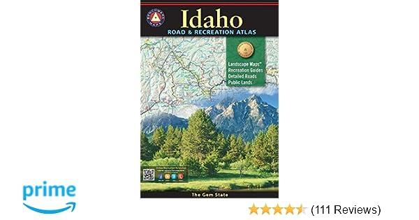 Idaho Benchmark Road & Recreation Atlas (Benchmark Maps): Benchmark