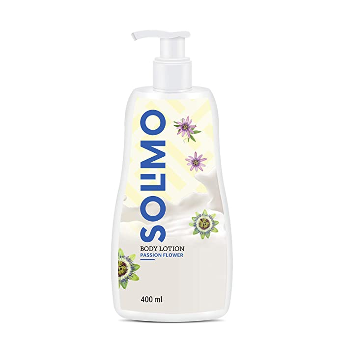 Amazon Brand - Solimo Passion Flower Body Lotion, 400 ml