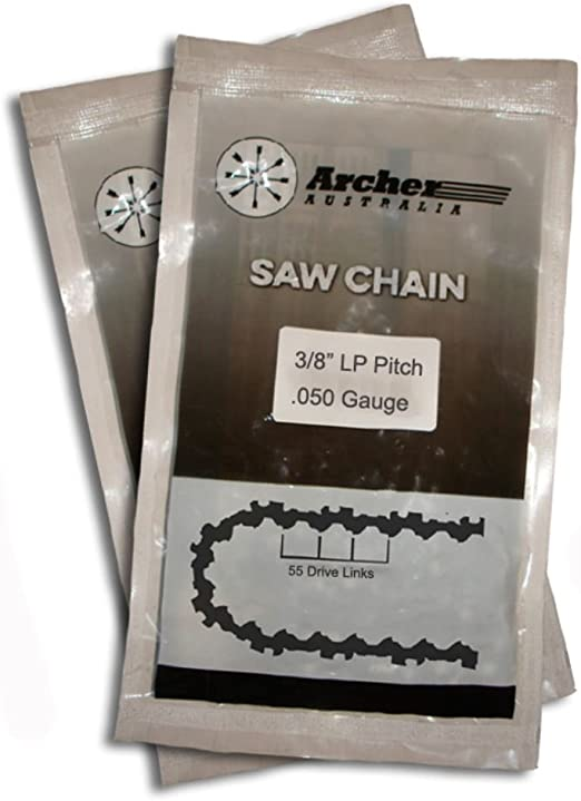 "New 16/"" 40cm Archer Chainsaw Chain For Worx WG303E Chain Saw 57DL"