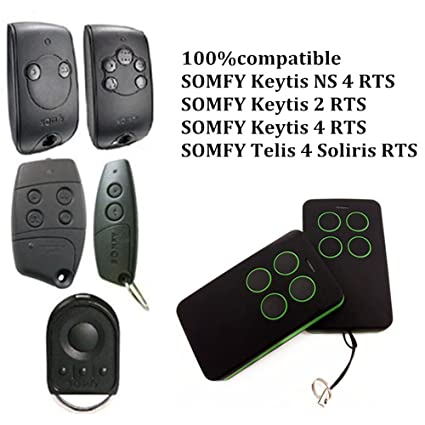 Somfy KEYGO 4 RTS Compatible remote control replacement for ...