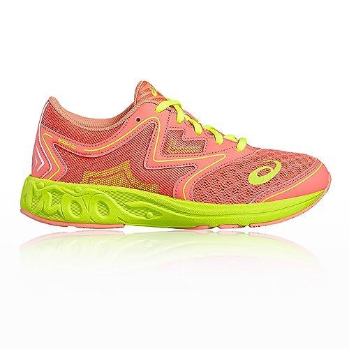 Asics C711N 2030, Zapatillas de Deporte Unisex Adulto, Varios Colores (Diva Pink/Melon/Safety Yellow), 38 EU