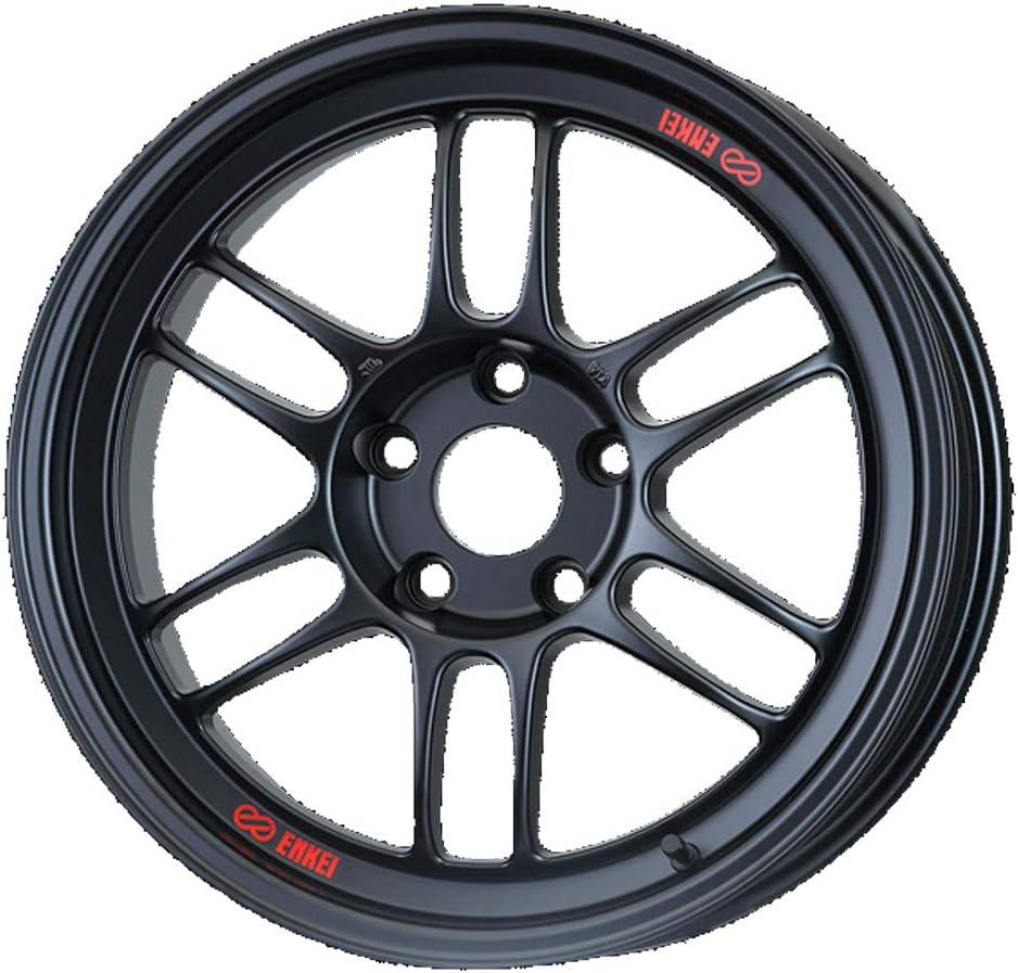 エンケイ (ENKEI) レーシング RPF1 (Racing RPF1) 18インチ × 9.5J PCD114.3 穴数5 インセット15 カラー:マットブラック ホイール単品 (1枚)
