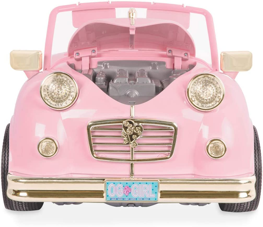 Amazon.com: Nuestra Generación Retro Car Doll 18 inch, 18 ...
