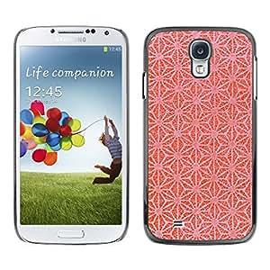 MOBMART Carcasa Funda Case Cover Armor Shell PARA Samsung Galaxy S4 - Web Like Strawberry Color