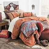 Corrales Sunset Southwest Bed Set, King