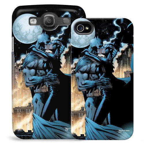 Batman and Catwoman Kiss Phone Case for iPhone 4/4S (Catwoman Iphone 4 Case)