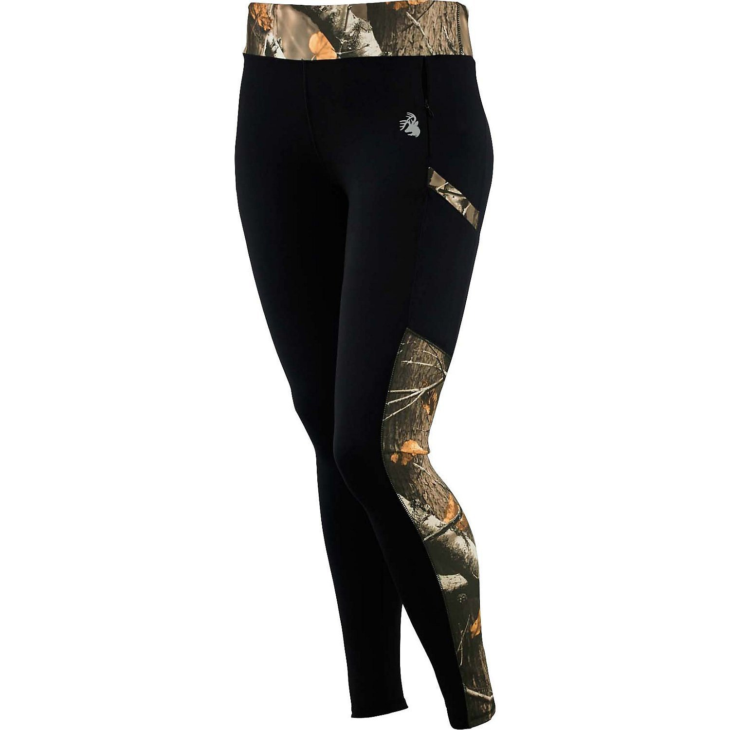 8517b440c572e These poly⁄spandex leggings feature Big Game Camo® and a reflective  Legendary® Signature Buck decoration. Two handy side pockets and one  invisible zippered ...