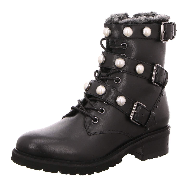SPM Ankle schuhe & Stiefel Damen Stiefeletten Pearlfur Ankle SPM Stiefel 21979461-001 schwarz 578423 514ff3