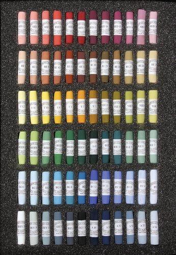 Jack Richeson Unison Pastel Starter Colors, Set of 72