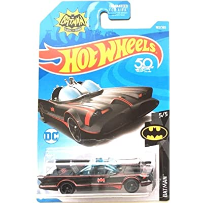Hot Wheels 2020 50th Anniversary Batman Classic TV Series Batmobile 163/365: Toys & Games