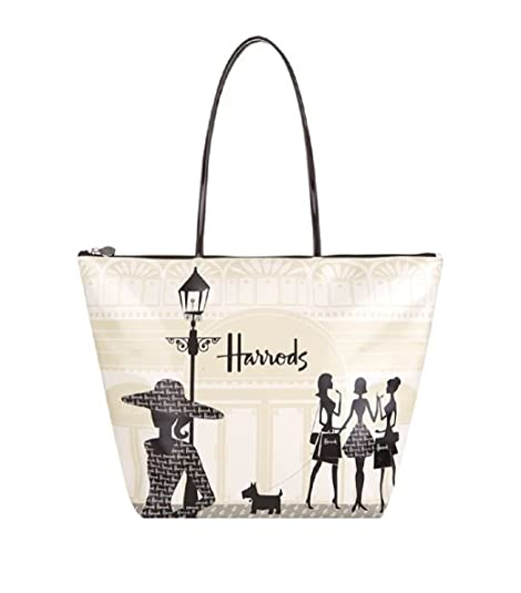 Harrods - Bolso al hombro de pvc para mujer Marfil Bianco ...