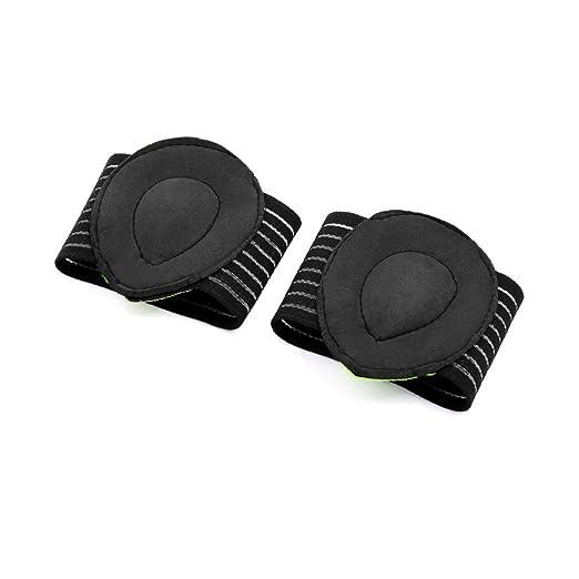 Amazon.com: eDealMax 1 Par Verde Negro Un tamaño arco de ...