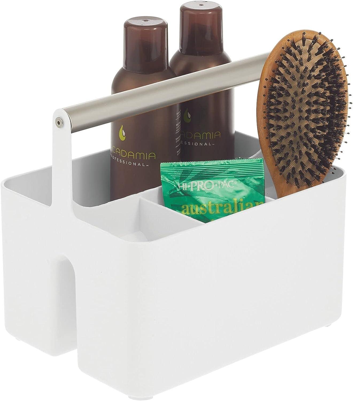 mDesign tragbarer Badezimmer Aufbewahrungsbox Bad Organizer mit ...