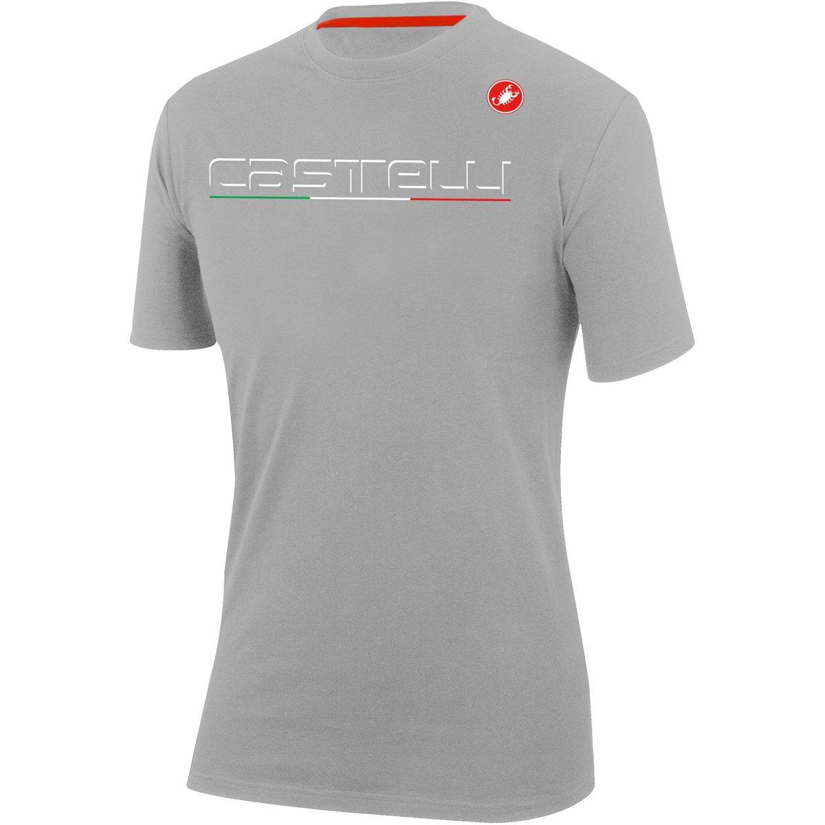 CastelliクラシックTシャツ B079NLM61Z X-Large|Melange Light Gray Melange Light Gray X-Large