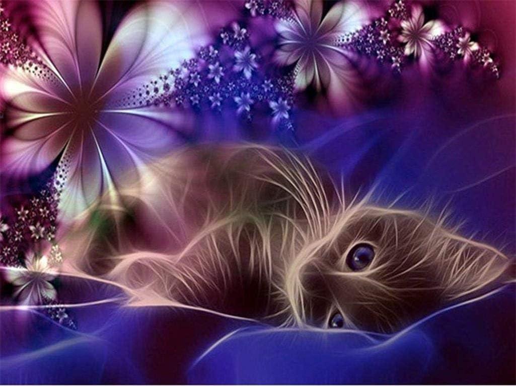 ParNarZar Diamond Painting - Moon cat