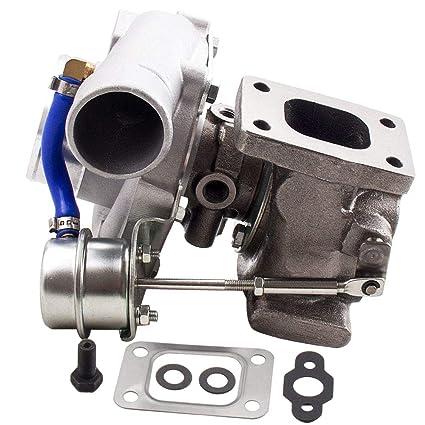Amazon.com: GT28 GT25 GT2871 GT2860 T25 T28 SR20 CA18DET Upgrade Turbo Turbocharger T25 Flange 5 Bolts Downpipe 400BHP: Automotive