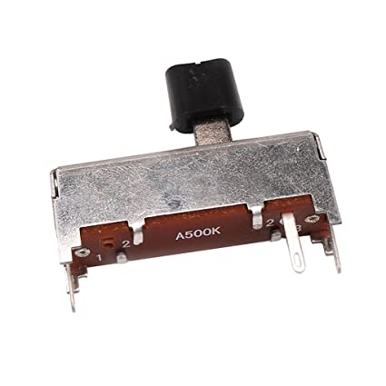 D DOLITY Interruptor Selector de Potenciómetro de Volumen de Guitarra Eléctrica A500K Push Pull