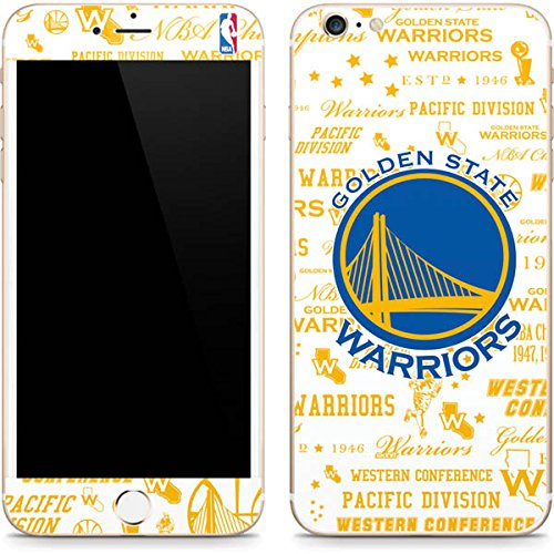 (Skinit Golden State Warriors Historic Blast iPhone 6/6s Plus Skin - Officially Licensed NBA Phone Decal - Ultra Thin, Lightweight Vinyl Decal Protection)