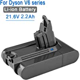 2200mA Replacement Battery for Dyson V6 Series Vacuum Cleaner DC58 DC59 DC61 DC62 DC72 SV06 21.6V Li-ion Battery
