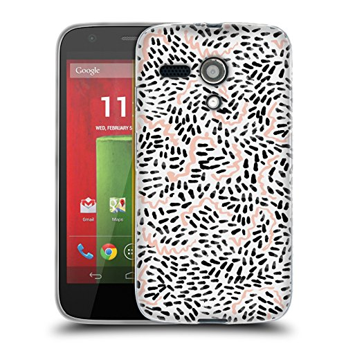 Official Charlotte Winter Helena Modern Soft Gel Case for Motorola Moto G (1st Gen) (Case Moto Head G)