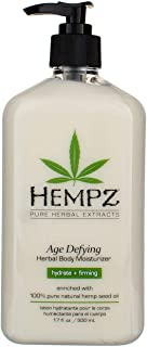 product image for Hempz Body Moisturizer Age Defying 17 Ounce Pump (500ml) (Pack of 2)
