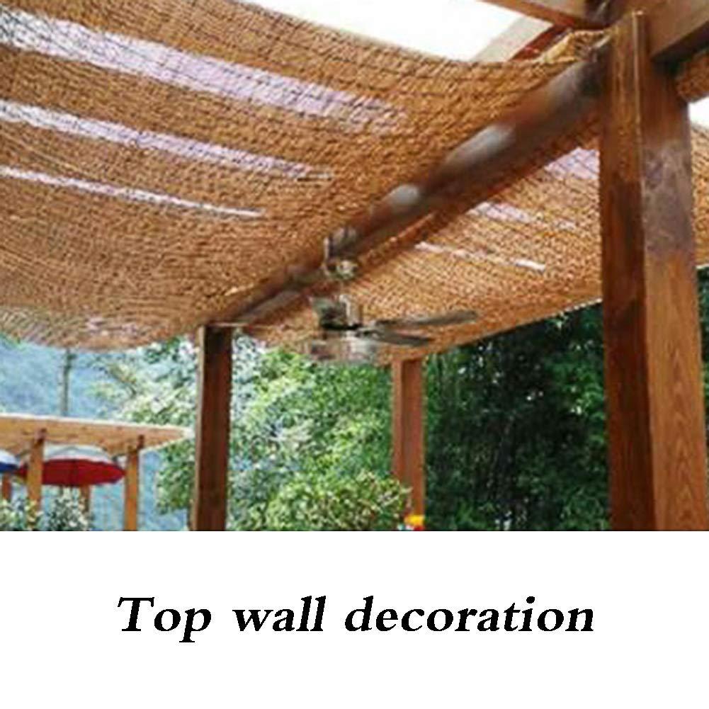 JIANFEI-Persiana de bambú romana Shade Cortina Decorativa Cortina ...