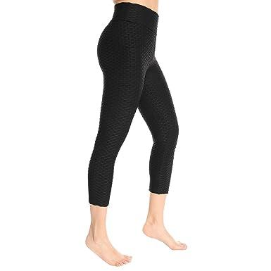 Mujer Pantalones Anchos de Pierna Pantalones de Yoga Fitness ...