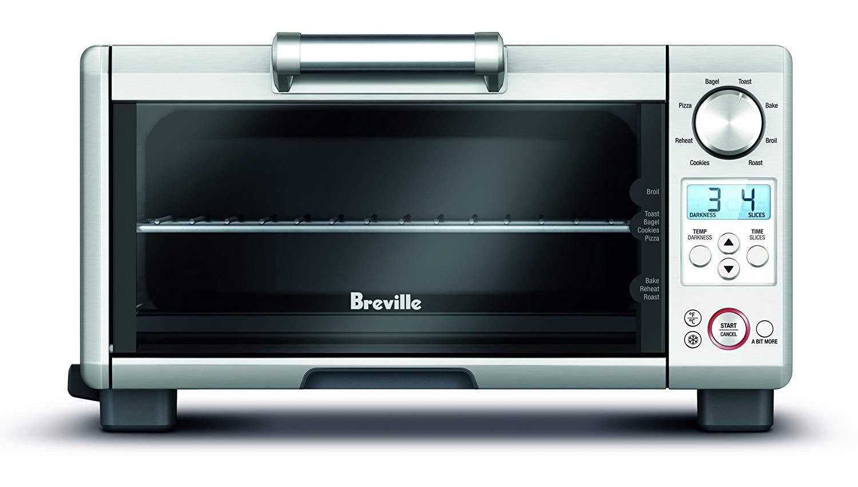 Breville the Mini Smart Oven 1800-Watt Compact Toaster Oven - BOV450XL